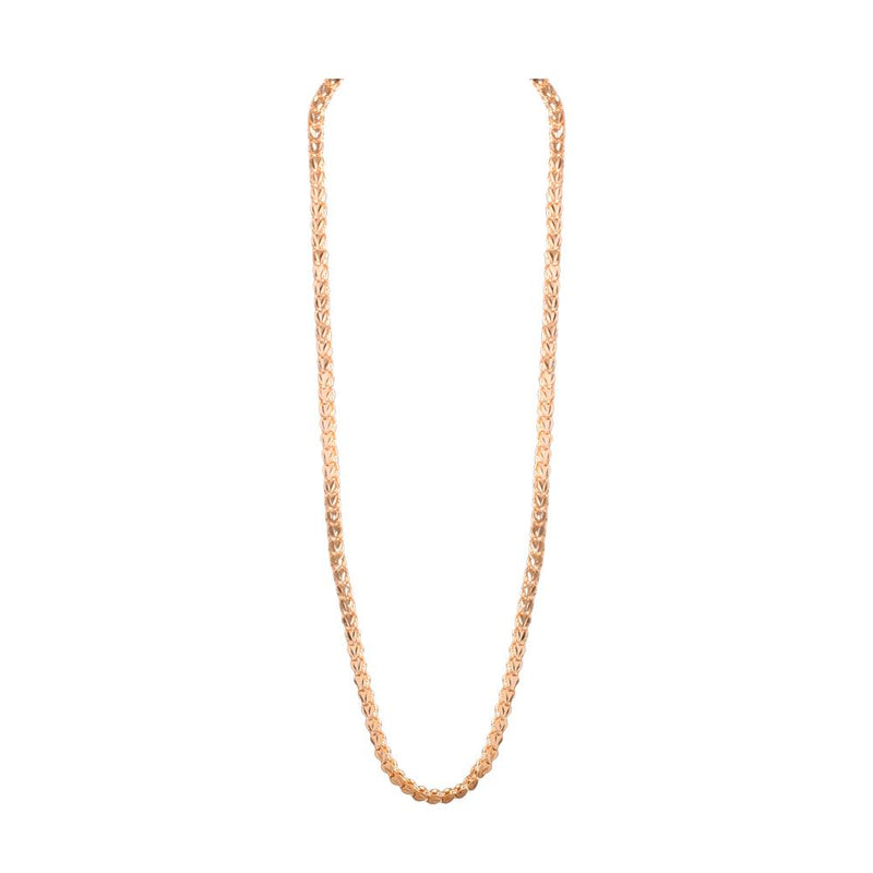 Long gold platted chain