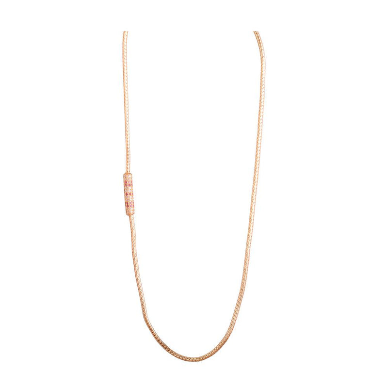 Stone Studded Gold platted chain