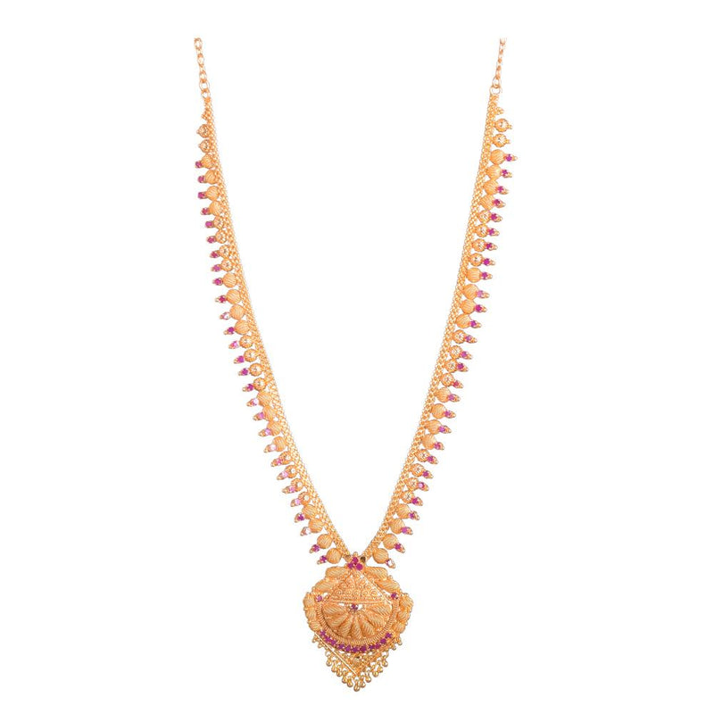 Long Gold platted pendant chain