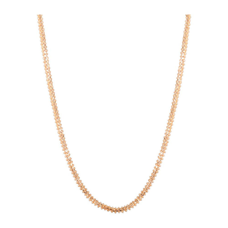 Gold platted long chain