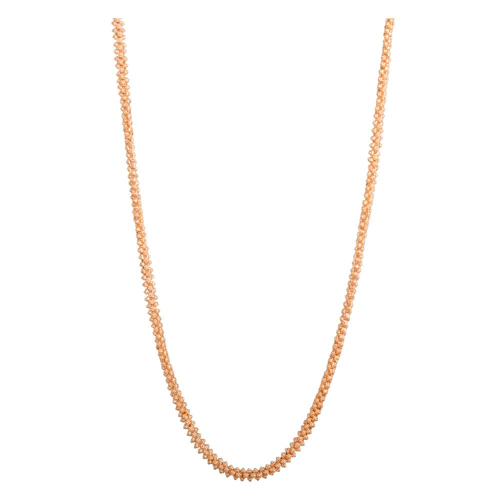 Simple Long Gold platted Chain