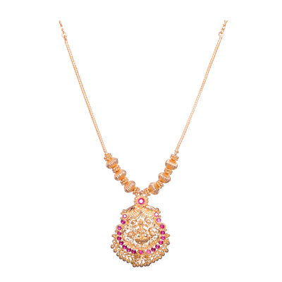 Laxmi colourful necklace