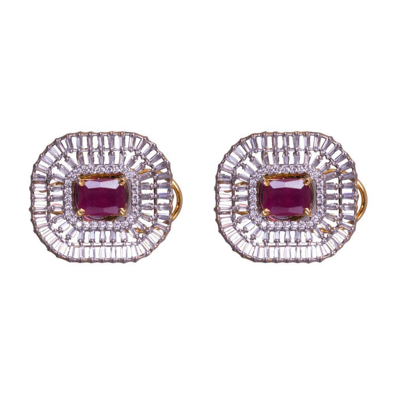 Gorgeous American Diamond Statement Earrings
