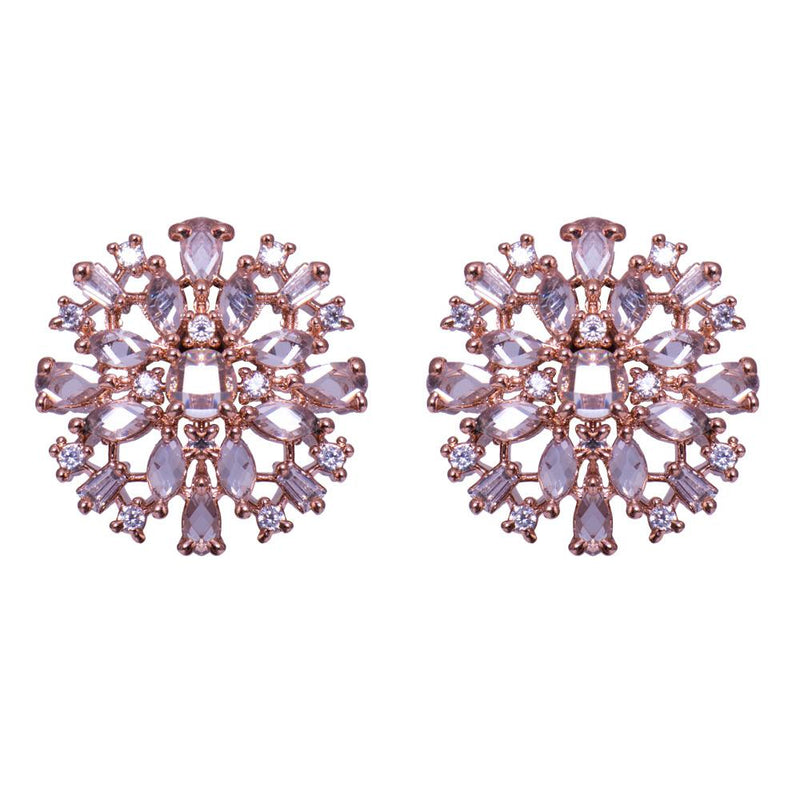 Crystal American diamond earrings