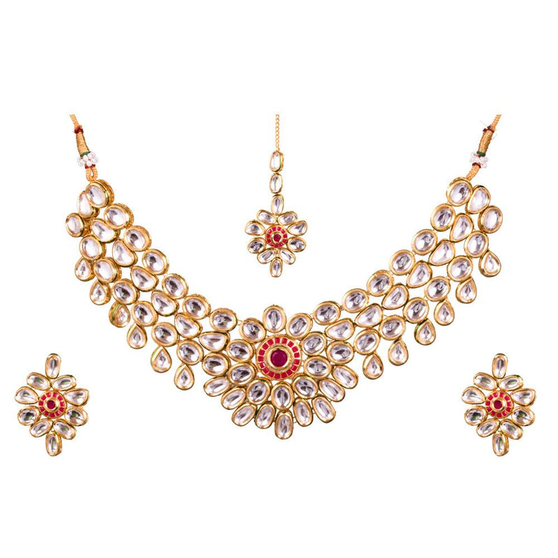 Elegant Antique Kundan Necklace