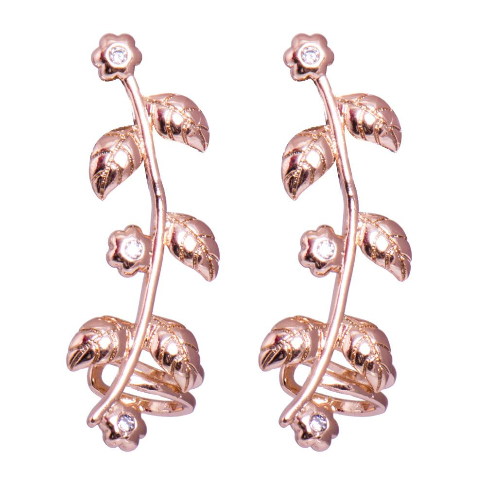 Rose Bluetooth press earrings
