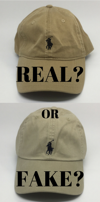 811bd6bc Spotting fake Ralph Lauren caps - Style Up