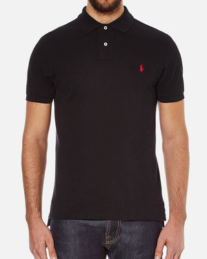 Polo Ralph Lauren Polo Shirt Black Custom Fit