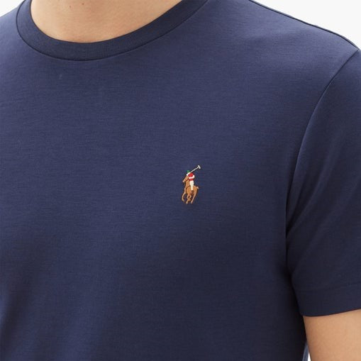 Polo Ralph Lauren Multicolor T-Shirt Custom Slim Fit Navy