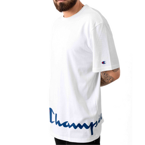 Champion Heritage Wrap Around T-Shirt White