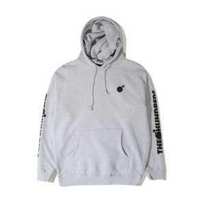 The Hundreds Forever Solid Bomb Crest Pullover Hoodie Athletic Grey