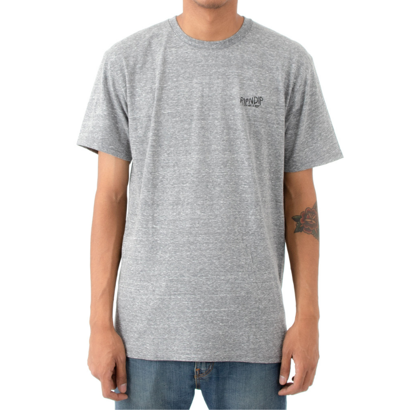 RipNDip Great Wave T-Shirt Grey