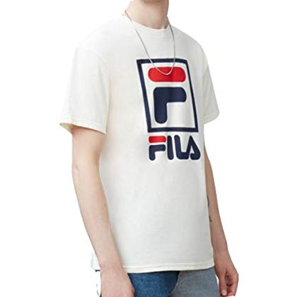 Fila Stacked T-Shirt Gardenia