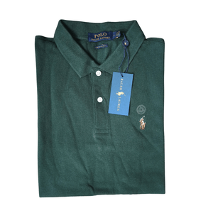 Polo Ralph Lauren Polo Shirt Green Custom Slim Fit