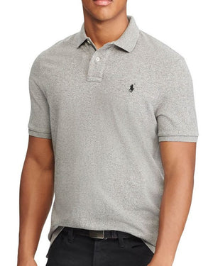 Polo Ralph Lauren Polo Shirt Heather Grey Custom Fit