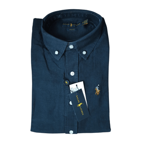 Polo Ralph Lauren Slim Fit Oxford Shirt Navy Blue