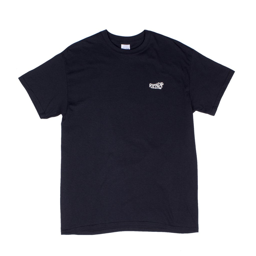RipNDip Great Wave T-Shirt Black