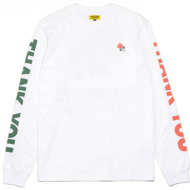 Chinatown Market Thank You Long Sleeve Tee