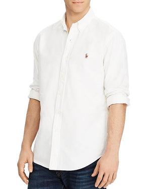 Polo Ralph Lauren Custom Fit Oxford Shirt White
