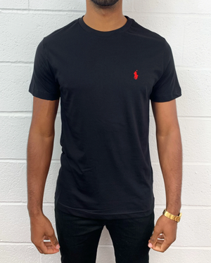 Polo Ralph Lauren T-Shirt Custom Fit Black