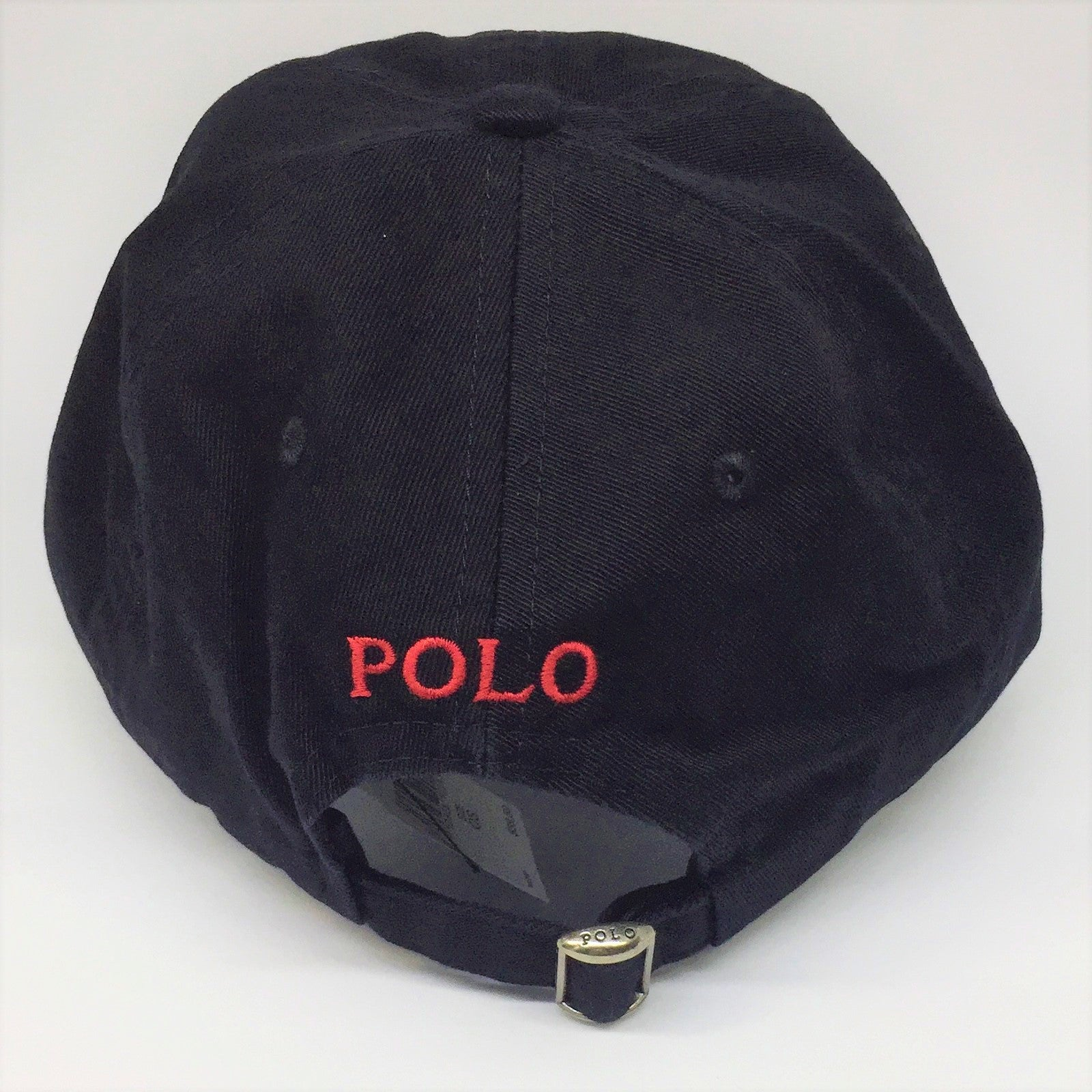 017de180b15 Polo Ralph Lauren Baseball Cap Black with Red Pony - Style Up