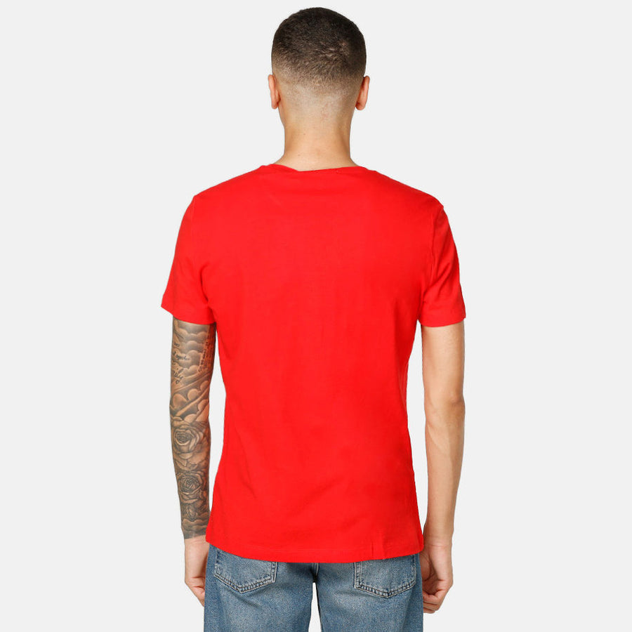 Calvin Klein Jeans Institutional Logo Tee Red