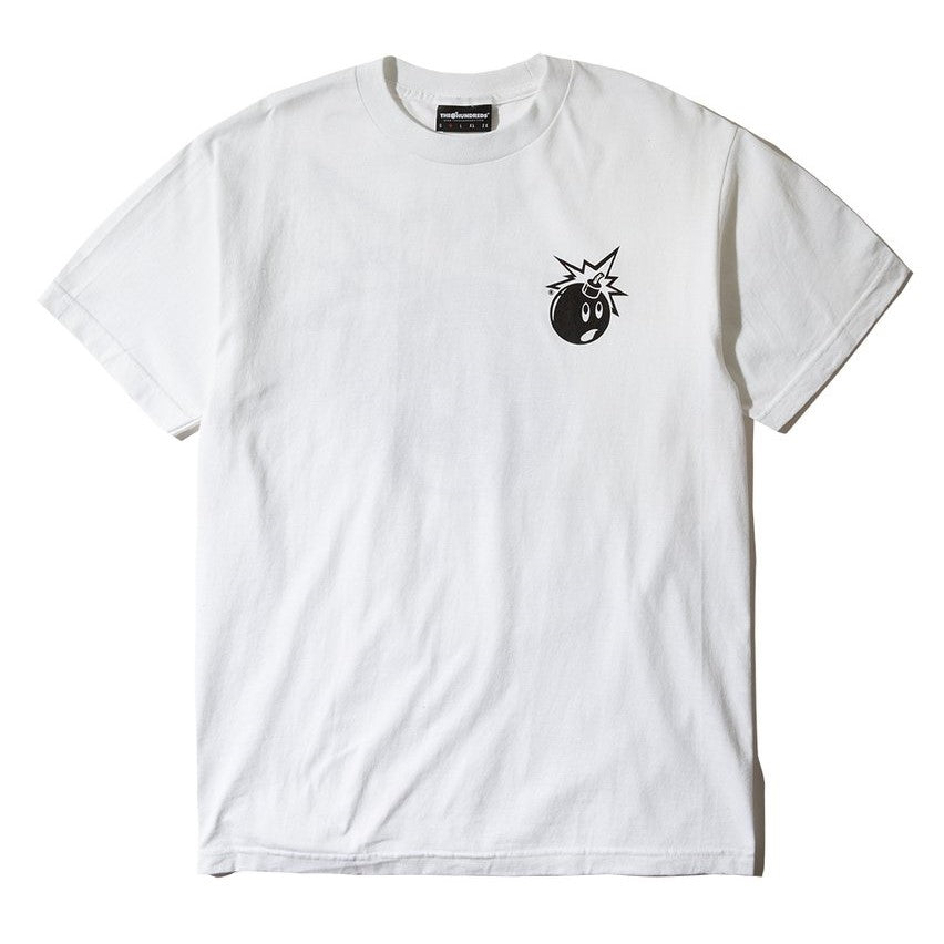 The Hundreds Forever Simple Adam T-Shirt White