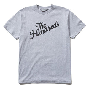 The Hundreds Forever Forever Slant Logo T-Shirt Athletic Heather
