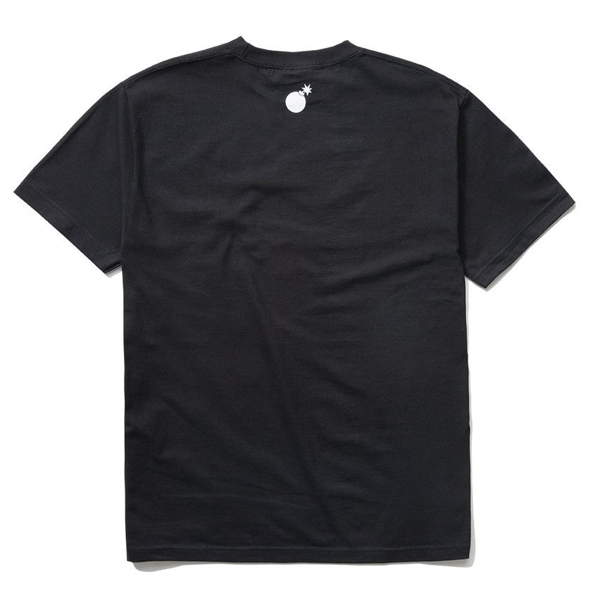 The Hundreds Forever Forever Slant Logo T-Shirt Black