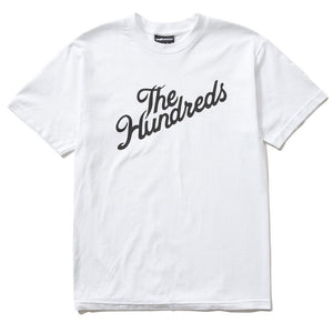 The Hundreds Forever Forever Slant Logo T-Shirt White