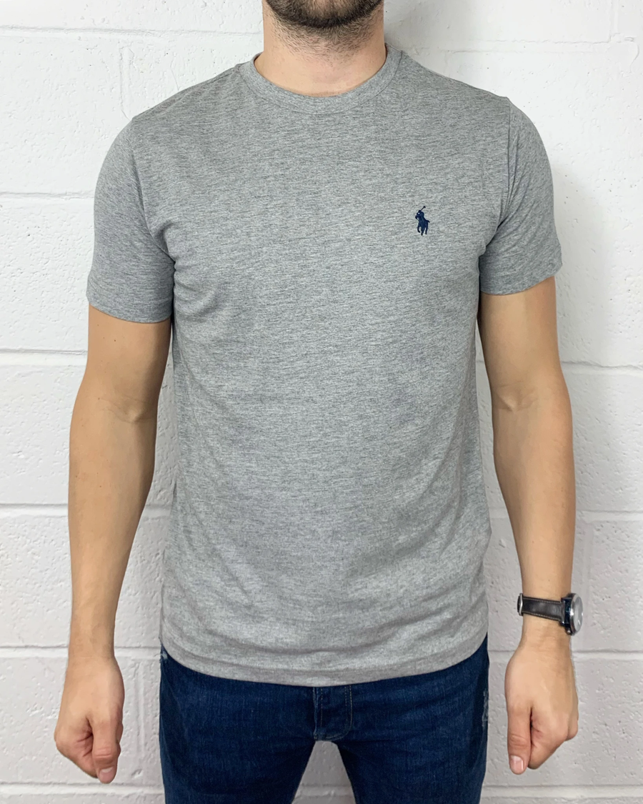 Polo Ralph Lauren T-Shirt Custom Fit Heather Grey