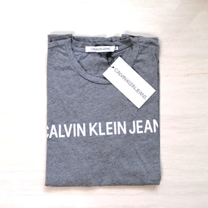 Calvin Klein Jeans Institutional Logo Tee Heather Grey