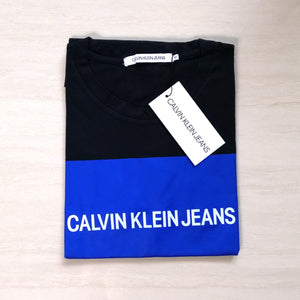 Calvin Klein Jeans Institutional Logo Box Tee Black