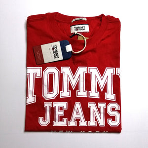 Tommy Hilfiger Jeans Essentials T Shirt Red