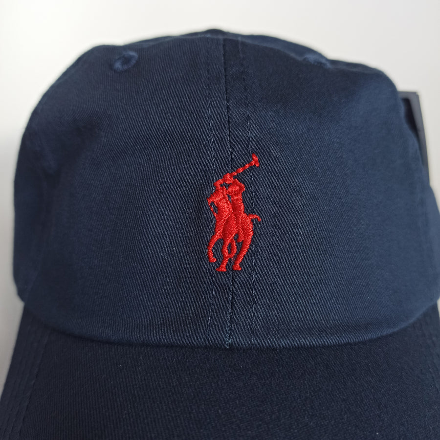 Polo Ralph Lauren Baseball Cap Navy with Red Pony