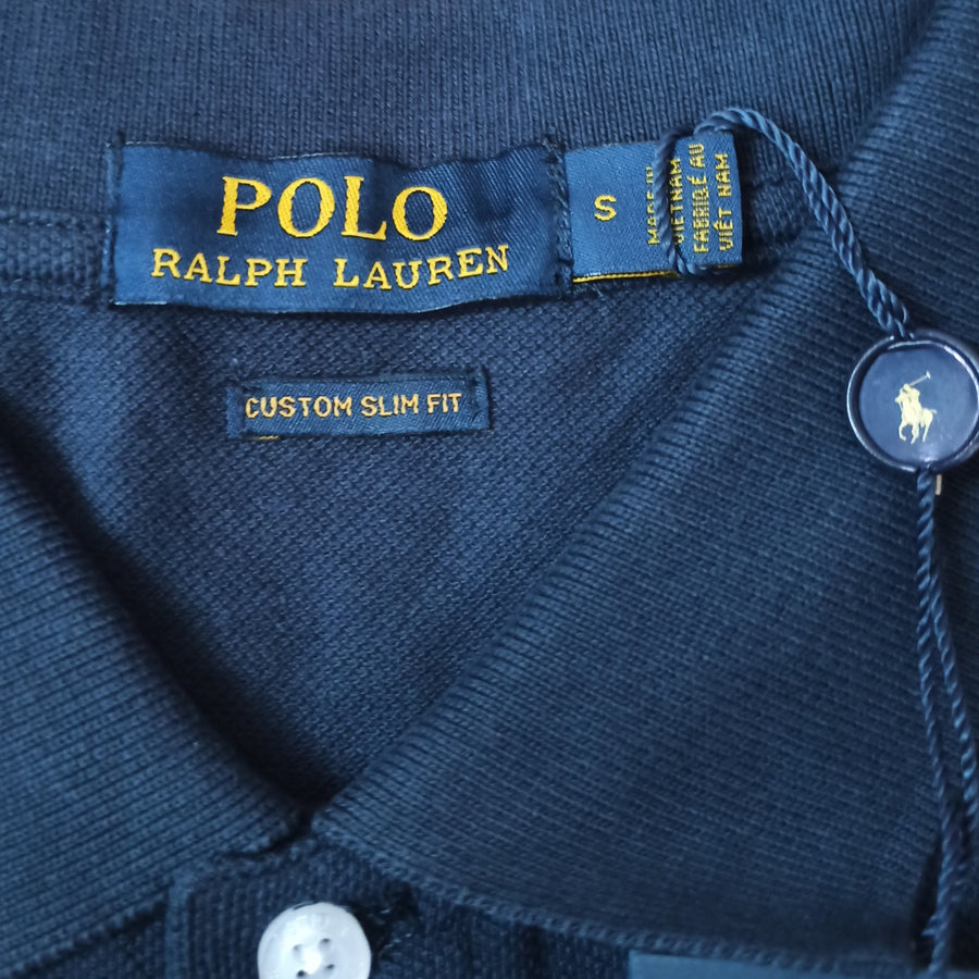 Polo Ralph Lauren Polo Shirt Navy Custom Slim Fit