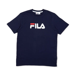 Fila Navy Line T-Shirt with Large Logo