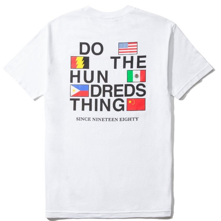 The Hundreds Love Hate T-Shirt White