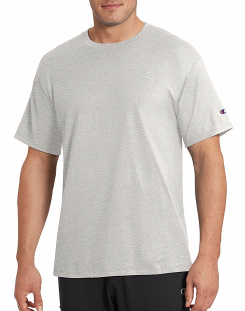 Champion Classic Jersey Tee Oxford Grey