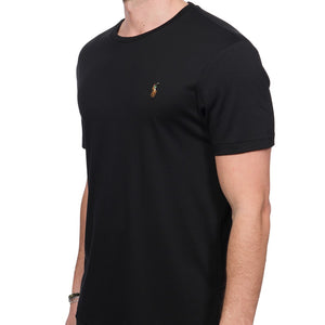 Polo Ralph Lauren Multicolor T-Shirt Custom Slim Fit Black