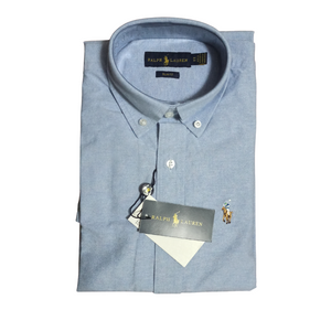 Polo Ralph Lauren Custom Fit Oxford Shirt Light Blue