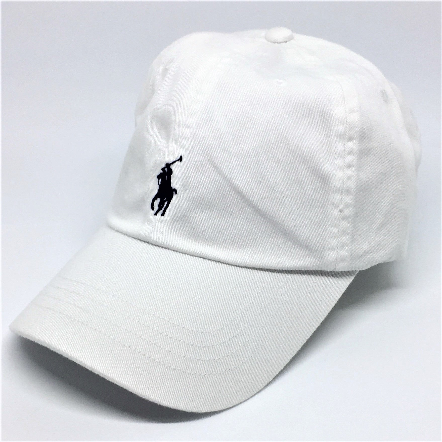 5fc8237388b Polo Ralph Lauren Baseball Cap White - Style Up