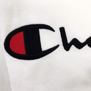 Champion Life® Heritage Script Logo Embroidered T-Shirt White