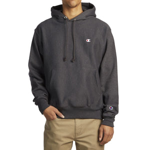Champion Reverse Weave Pullover Hoodie Granite Heather