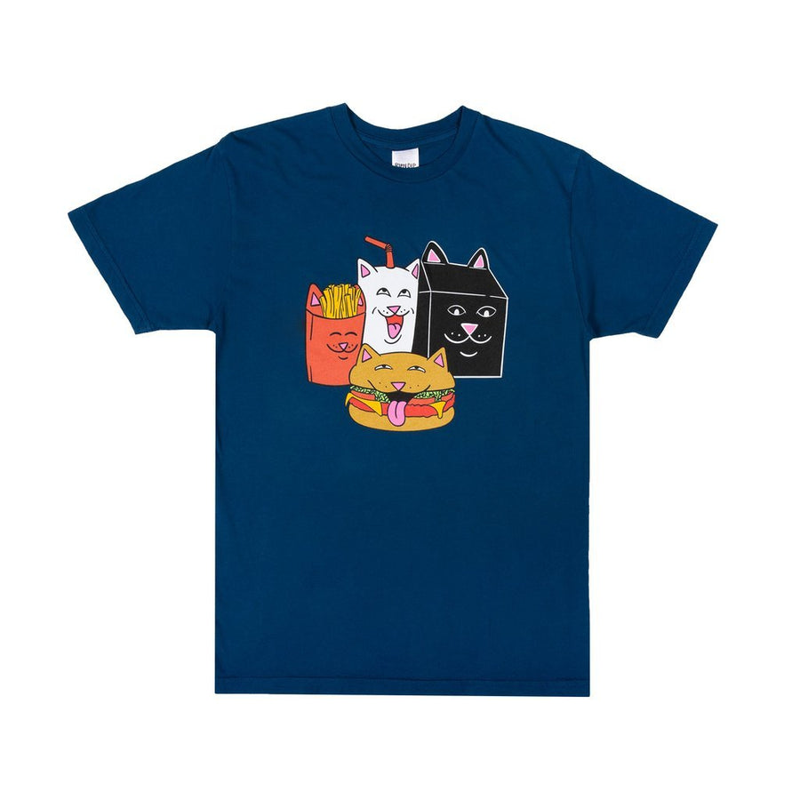 RipNDip McNerm T-Shirt Harbour Blue