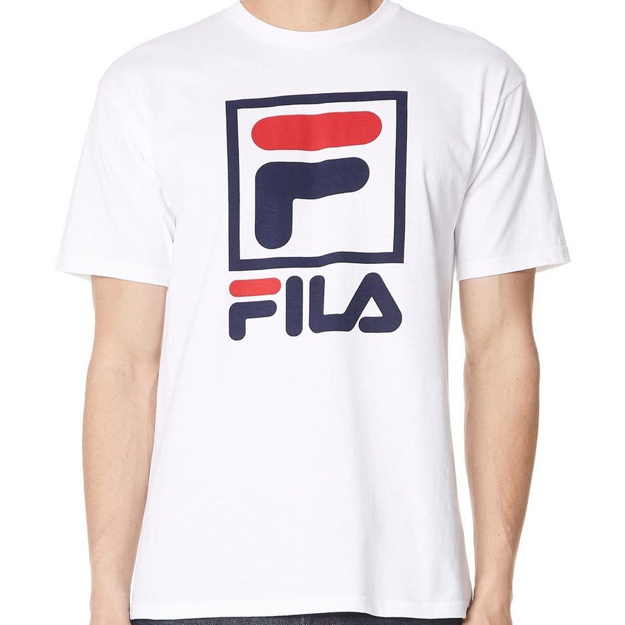 Fila Stacked T-Shirt White