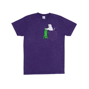 RipNDip Break Yo Self T-Shirt Purple Mineral Wash