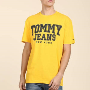 Tommy Hilfiger Jeans Essentials T Shirt Yellow
