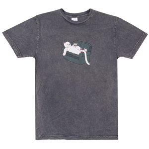 RipNDip Noodles T-Shirt Grey Mineral Wash