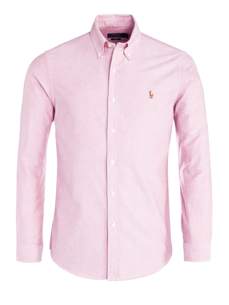 Polo Ralph Lauren Custom Fit Oxford Shirt Pink